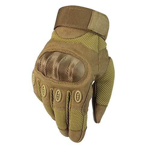 Touchscreen Motorradhandschuhe Herren Knöchelschutz Moto Motorradhandschuhe Verschleißfeste Anti-Rutsch-Motocross-Handschuhe zu jeder Jahreszeit