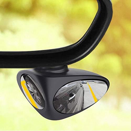 WQSNUB Espejo de Punto Ciego Universal para Coche, retrovisor Exterior Ajustable para automóvil, Espejos de estacionamiento convexos, Accesorios retrovisores