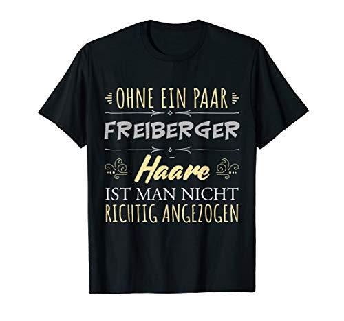 Pferdehaare Pferdespruch Reiterin Geschenk Freiberger Pferde T-Shirt