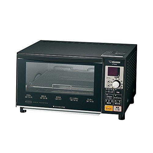 象印 オーブントースター こんがり俱楽部 トースト4枚同時焼き サクふわトースト マットブラック ET-GM30-BZ