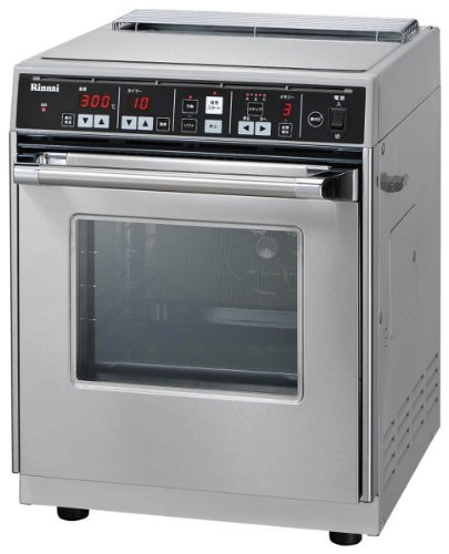 リンナイ 業務用卓上型ガス高速オーブン コンベック(プロパンガス用) RCK-10AS-LP