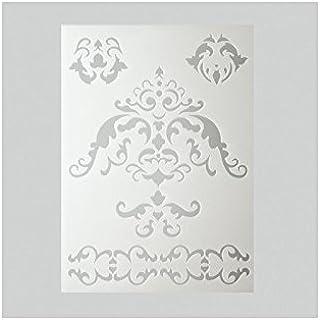 efco Plantilla de Estarcido, 5 diseños, diseño de Mandala