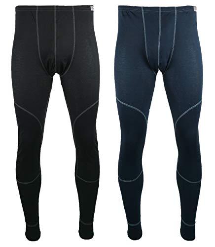 Generisch Herren Thermo Funktionshose Hydrotherm ® Pro2 Thermohose Lange Unterhose Farbe:Blau Größe:XL
