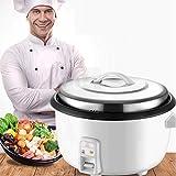 XH&XH Olla arrocera de Gran Capacidad, Utensilios de Cocina antiadherentes para Consumo y Uso Comercial, cocción automática, fácil de Limpiar, Resistencia a Altas temperaturas para Proteger los el