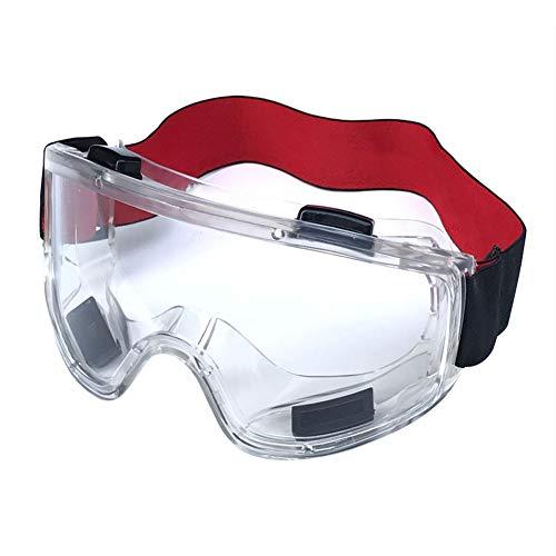 Gafas Protectoras Ergonómicas Antiniebla Montar A Caballo Minería De Trabajo PVC Gafas De Seguridad A Prueba De Viento Gafas Protección Transparente