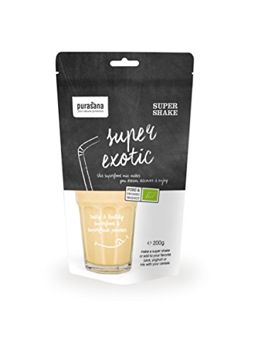Purasana Superfood Mix Baobab, Gojibeere, Banana, Physalis, Agave, Kokusnuss