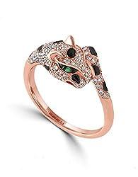 14K ROSE GOLD DIAMOND,TSAVORITE RING WZ0S503DV6