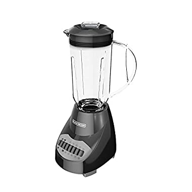 BLACK+DECKER Crush Master 10-Speed Blender, Black, BL2010BP