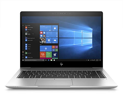 HP-PC EliteBook 850 G5 Notebook, Intel Core i7-8550U, RAM 16 GB, SSD 512 GB, Windows 10 Pro, Schermo 15,6' FHD IPS Antiriflesso, Lettore Impronte Digitali, Argento