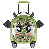 Maleta pequeña para niños de 16 pulgadas, maletín para niños, maleta para niños, maleta con ruedas para mujer,...