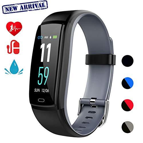Mgaolo Fitness Tracker,Smart Watch Activity Tracker Health Bracelet Waterproof Wristband