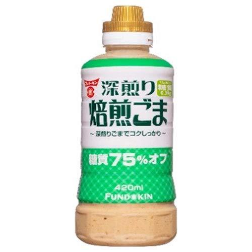 フンドーキン 糖質75%オフ 焙煎ごまドレッシング 420ml×12本入