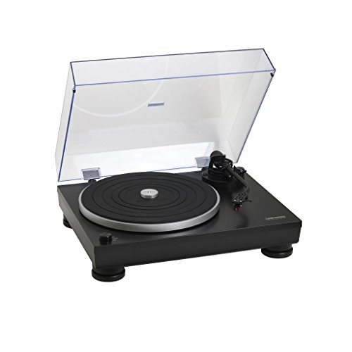 #03 GIRADISCHI PROFESSIONALE audio technica AT-LP5 Giradischi Manuale, Nero Opaco