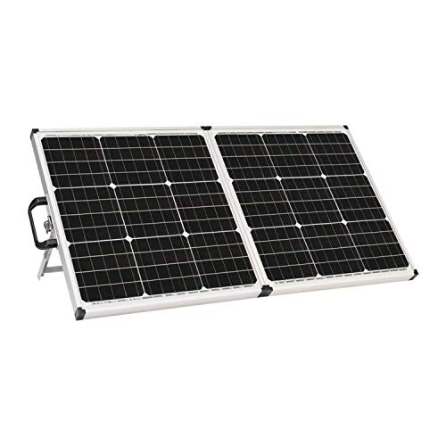 Zamp solar Legacy Series 90-Watt Portable Solar Panel Kit with Integrated Charge Controller and Carrying Case. Off-Grid Solar Power for RV Battery Charging - USP1001