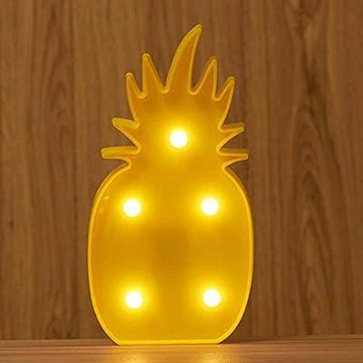 LED Light ,Lavany® LED Cartoon Pineapple Table Coconut Tree NightLight Decorative Party Bedroom Xmas