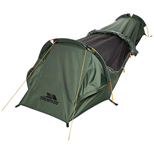 Trespass Sentry 1 Person Bivvy Tent - OLIVE EACH