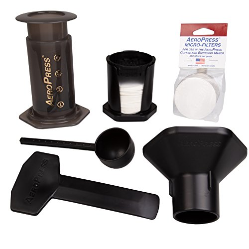 Aeropress 80R08B FBA_492038-80R08 ASIN: B001HBCVX0 UPC: 845055019146 View on Amazon, 350, transparent
