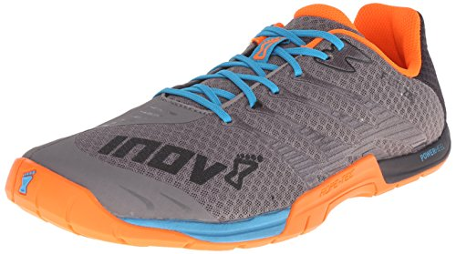 Inov-8 Mens F-Lite 235, Grey/Orange, 14 D