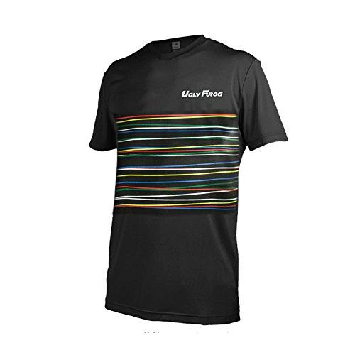 Uglyfrog 2017 MTB Downhill Trikot Kompressionsshirt Herren Kurzarm Fitness T-Shirt Freizeit Männer Laufshirt Printed und Klassisch Top Funktionswäsche SJFHB02