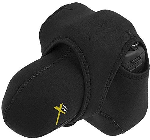 Reversible Stretchy Wrap Case Camera Bag For Panasonic Lumix DMC-FZ1000 DMC-FZ70