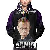 Sudadera con capucha Armin Van Buuren para hombre, color negro...