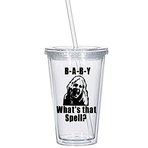 Baby Firefly Tumbler Cup What's That Spell Devils Rejects House 1000 Corpses 3 From Hell Captain Spaulding Otis