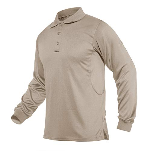 CRYSULLY Mens Military Shirt Pullover Long Sleeve Army 1//4 Zip Tactical T-Shirts