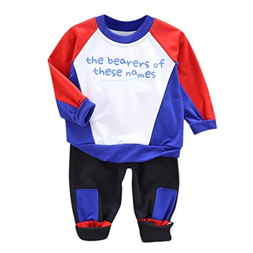 Pingtr Baby Set Shirt + Hose, Babyset 2 Teile mit Rehkitz für Neugeborene & Kleinkinder   Baby Bekleidung Bekleidungssets Hosen Shirt Sets drucke(0-4 Jahre)