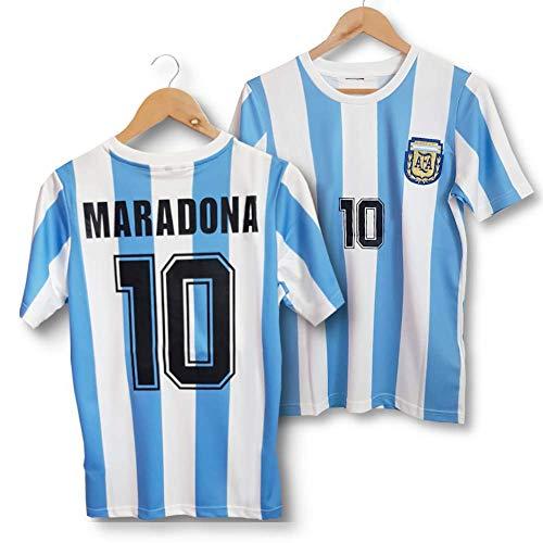 Direct Sport – Camiseta de Maradona Argentina 86 retro –