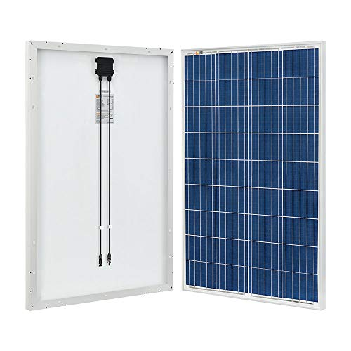 RICH SOLAR 100 Watt 12 Volt Polycrystalline Solar Panel High...