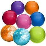 Hedstrom 13-Inch Indoor/Outdoor Playballs, Assorted Colors, 8-Pack