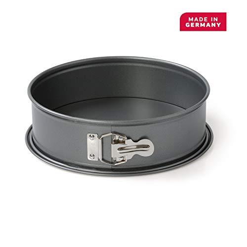 Kaiser Gourmet Springform, mit Flachboden, 20 cm, runde Backform, auslaufsicher, antihaftbeschichtet, hitzebeständig bis 230°C