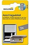 Schellenberg 52102 Anschlagwinkel für Rollladen, Endstopfen Rolladen stabil