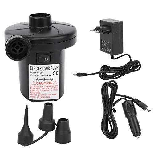 Bomba de carga AC/ cc, refuerza la bomba de carga cc, bomba de aire eléctrica portátil duradera, fácil de usar, para sofás (AC y DC Air Pump).