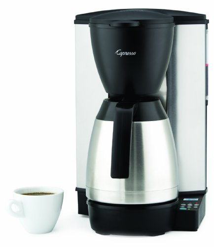 Capresso MT600 10-Cup Programmable...
