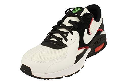 Nike Cross - Sneaker da uomo, Bianco Bianco Nero 105, 42.5 EU