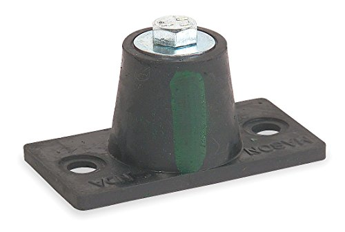 Mason Floor Mount Vibration Isolator, Neoprene - 4C875