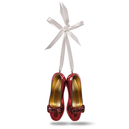 Hallmark Keepsake Christmas Ornament 2018 Year Dated, The Wizard of Oz Collectibles Ruby Slippers, Metal
