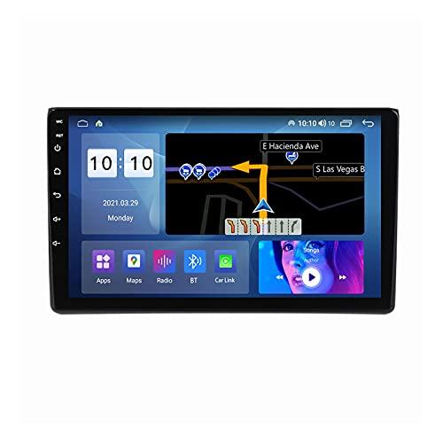 ADMLZQQ Pantalla Táctil Completa De 9 Pulgadas Navegación Multimedia para Audi A4 S4 B6 B7 Android 10 Navegación GPS De Radio De Coche con SWC/Carplay/Dsp/Bluetooth,M600s8core6+128