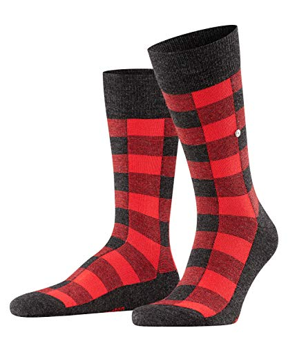 Burlington Herren Country Lumberjack Socken, grau (anthracite mel. 3080), 40-46