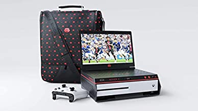 Buddah Tek Luxury Gaming Rover 1 + Rover 1 Messenger Bag Bundle for Xbox One S, Xbox One X, PS4 Slim and PS4 Pro! ( Consoles Not Included) - PlayStation 4