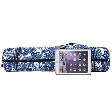 AIXIN FODOKO 26 L Yoga Mat Bag/Bag/Phone/Keychain Charm - Yoga, Pilates, Fitness Travel Cotton Blue White, Sky Blue+White, Light Sky Blue Blue, Sky Blue+White