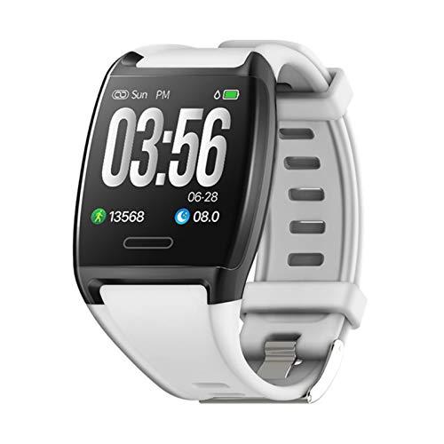 ZBY Smart Watch V2 Pulsera De Pantalla Grande Monitoreo del Corazón Monitoreo De La Presión Arterial Mensaje De Empuje iOS Android Deportes Fitness Tracker Pulsera,B