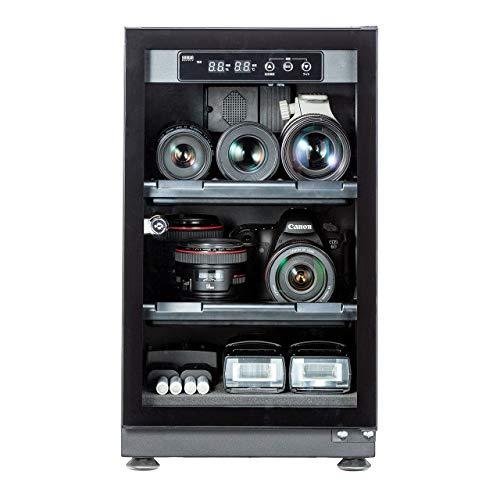 サンワダイレクト 防湿庫 カメラ 40L 静音 カビ対策 トレー高さ調整 鍵付 200-DGDRY002