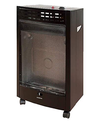 Estufa DE Gas BUTANO HBF-5205 INFINITON (Potencia Calorífica de 4200W, Seguro Anti-vuelco, Ruedas pivotantes, Encendido Mediante pulsador)