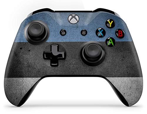 Skins4u Aufkleber Design Schutzfolie Vinyl Skin kompatibel mit Xbox One Controller Estland