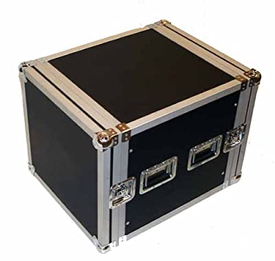 Seismic Audio - 10 SPACE RACK CASE for Amp Effect Mixer PA/DJ PRO Audio by Seismic Audio Speakers, Inc.