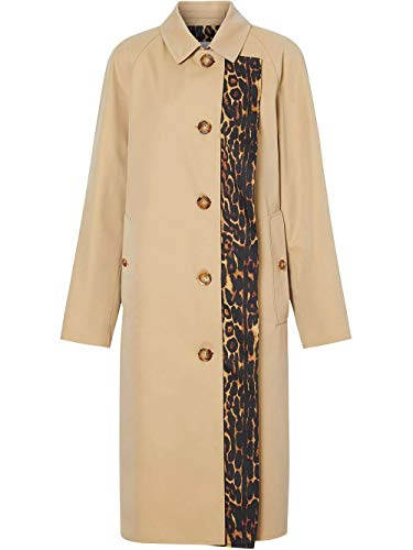 BURBERRY Luxury Fashion Damen 8023196 Beige Baumwolle Mantel | Frühling Sommer 20