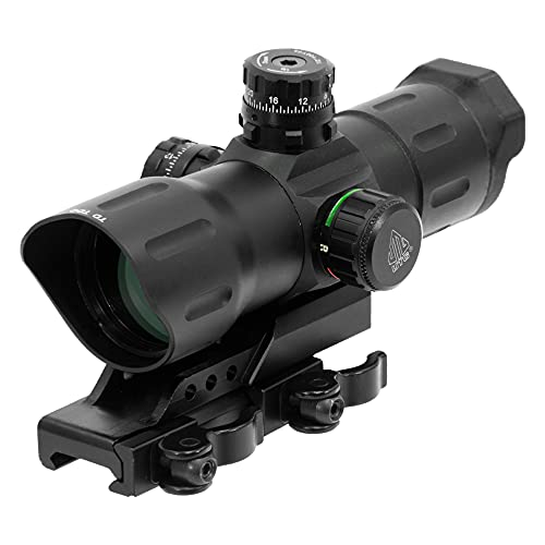 "UTG 6"" ITA Red/Green CQB T-dot Sight with Offset QD Mount"