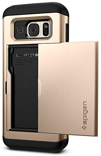 Spigen Slim Armor CS Designed for Samsung Galaxy S7 Edge Case (2016) - Champagne Gold